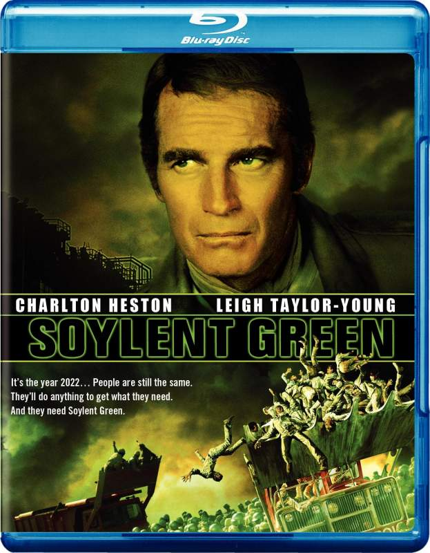 Soylent Green (1973) Audio Latino BRRip 720p Dual Ingles