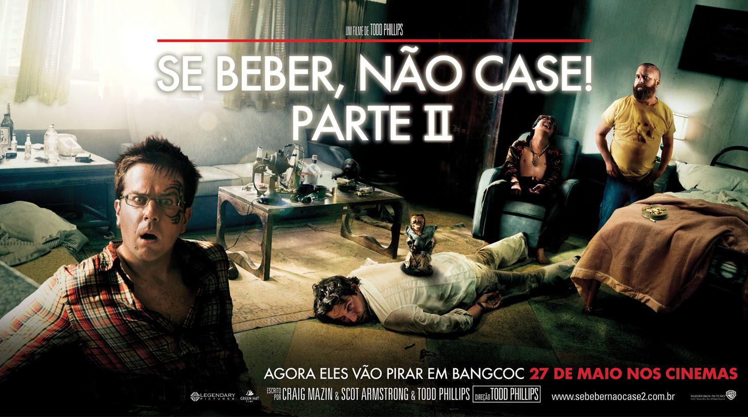 Se Beber, Não Case! Parte II (2011) BluRay 720p Dublado Torrent Download
